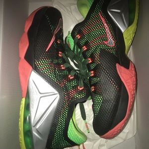 Lebron XII low basketball shoes